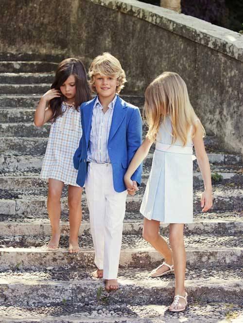 Oscar de la Renta Children's Wear Spring Summer 2013-06