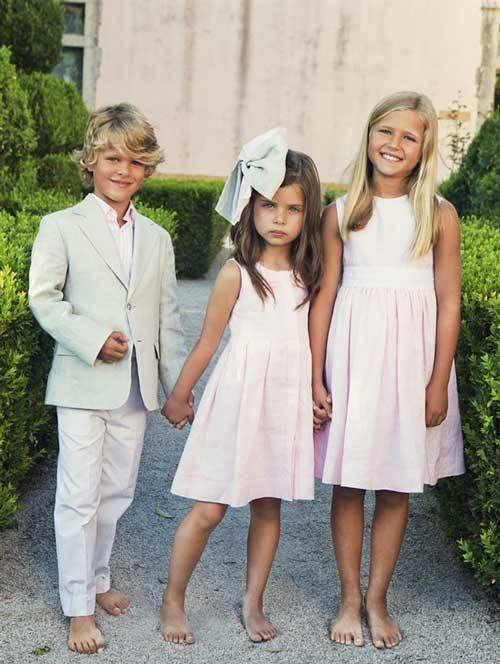 Oscar de la Renta Children's Wear Spring Summer 2013-09