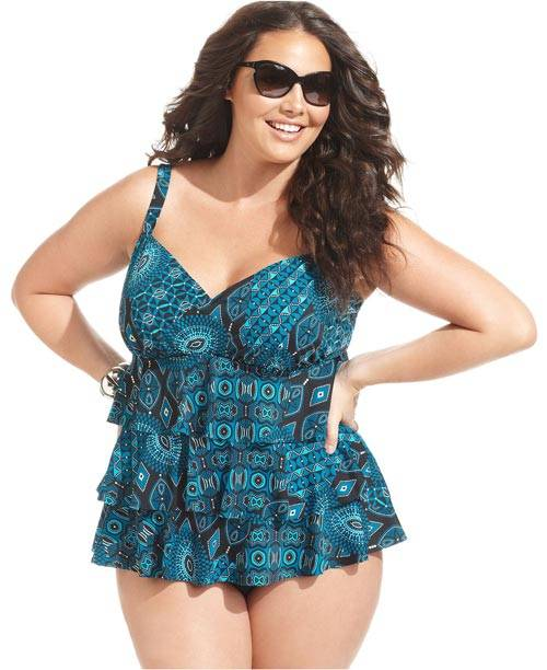 Plus Size Swimwear 2013-2