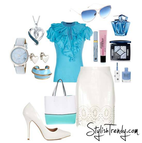 Summer 2013 Outfits For Women By Stylish Trendy
