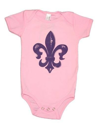 The Coolest Baby Clothes Spring Summer 2013 Fleur de Lis one piece