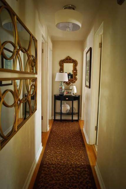 Tips for corridor decoration 2013 for Long thin decorative mirrors