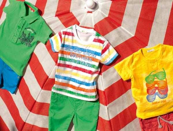 United Colors of Benetton Summer 2013 Baby Clothing