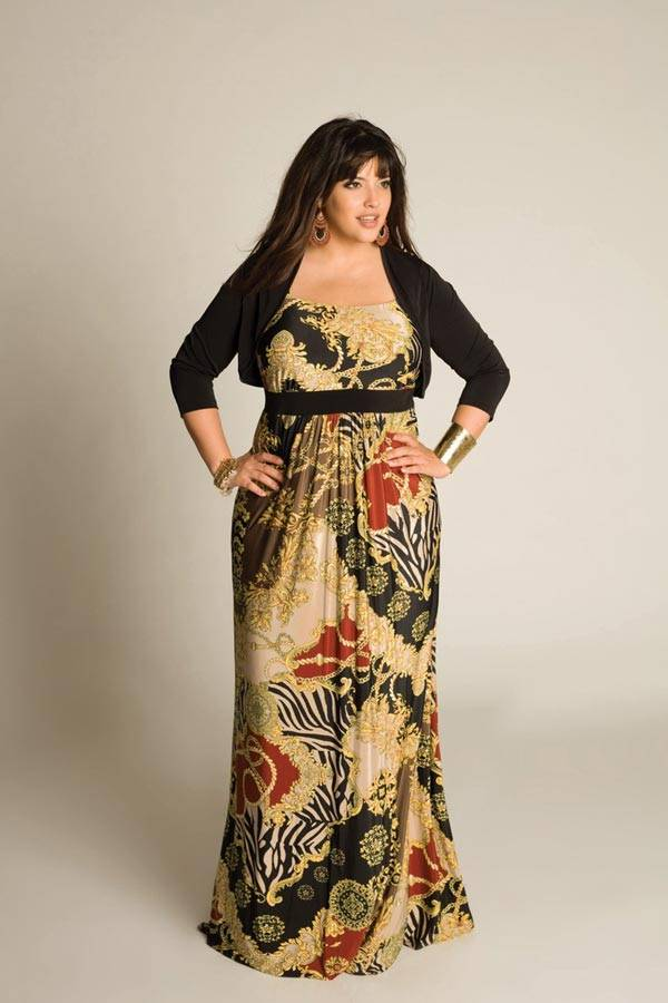 Plus Size Maxi Dresses_12