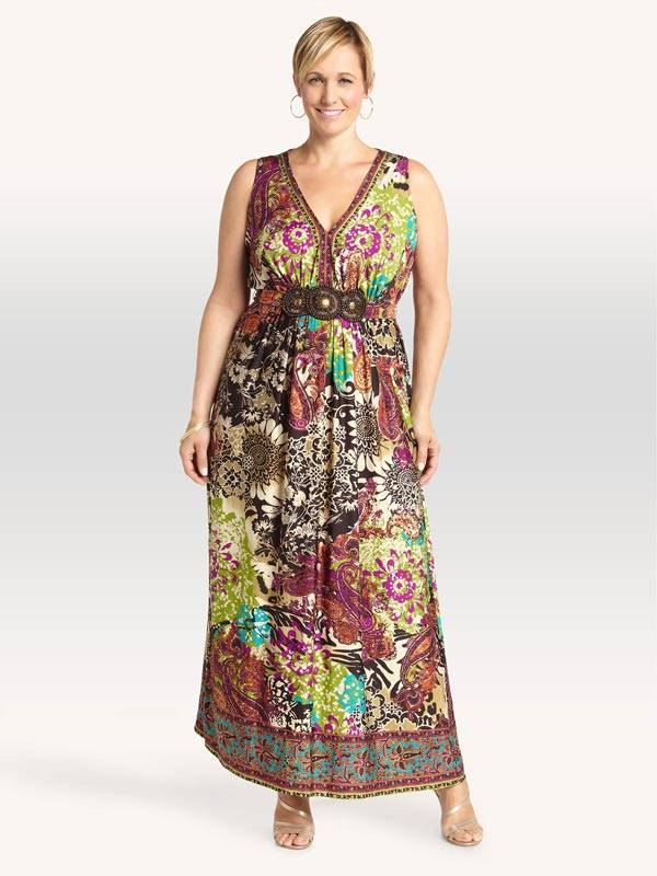 Plus Size Maxi Dresses_13
