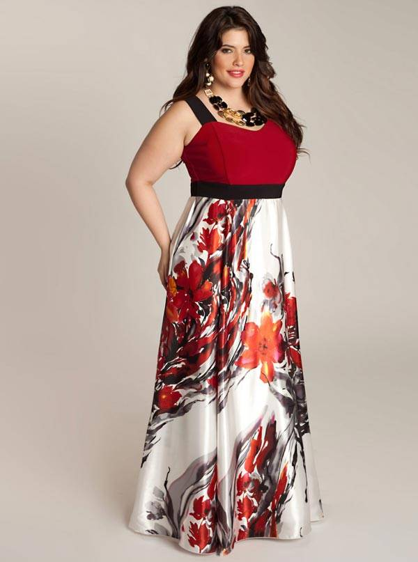 Plus Size Maxi Dresses 2013