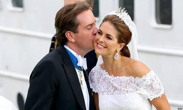 Princess Madeleine of Sweden's Wedding Dress
