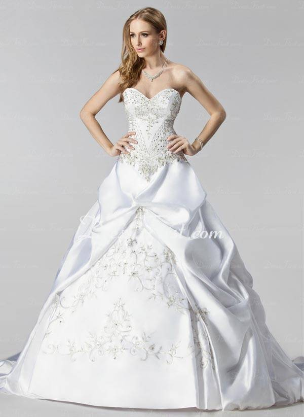 Elegant Wedding Dresses 2013_09