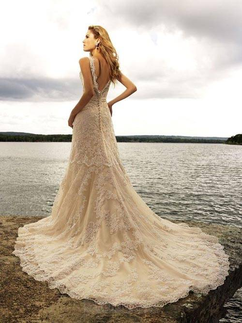 Beach Wedding Dresses 2013_01