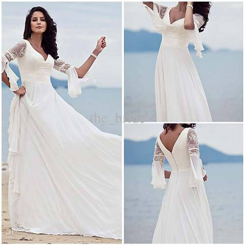 Beach Wedding Dresses 2013_11