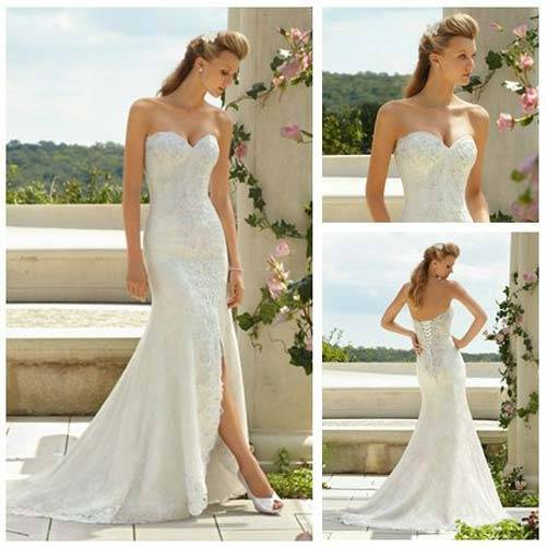 Beach Wedding Dresses 2013_14