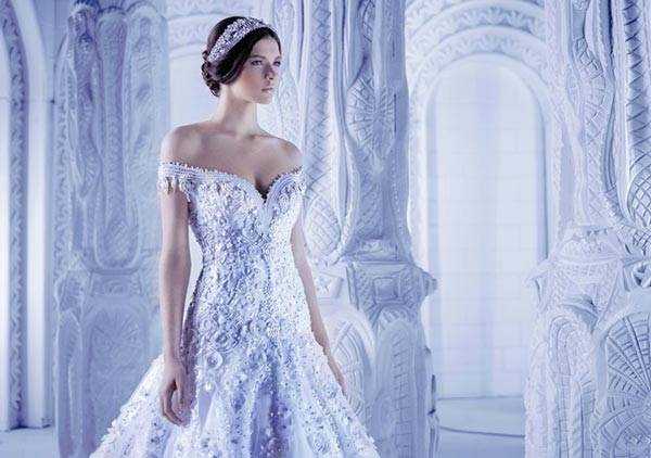 Michael Cinco Wedding Dresses 2013 Classic Style With A Glamorous Twist_01
