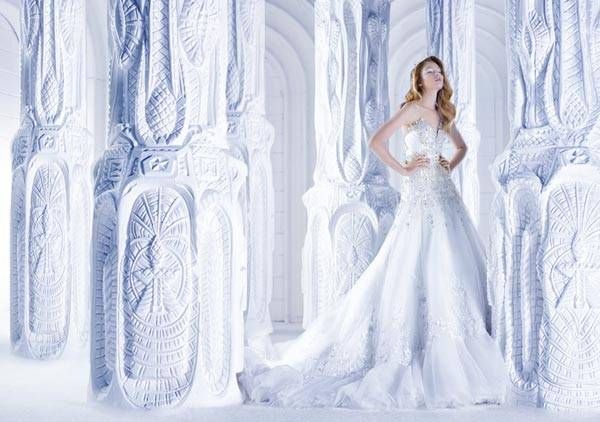 Michael Cinco Wedding Dresses 2013 Classic Style With A Glamorous Twist_02