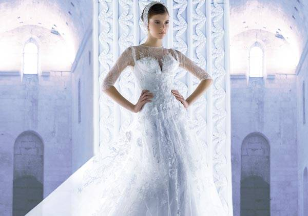 Michael Cinco Wedding Dresses 2013 Classic Style With A Glamorous Twist_03