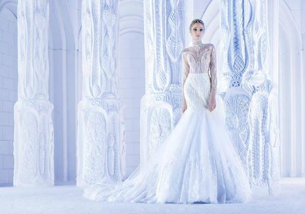 Michael Cinco Wedding Dresses 2013 Classic Style With A Glamorous Twist_04
