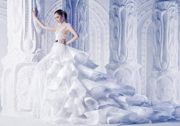 Michael Cinco Wedding Dresses 2013 Classic Style With A Glamorous Twist_05