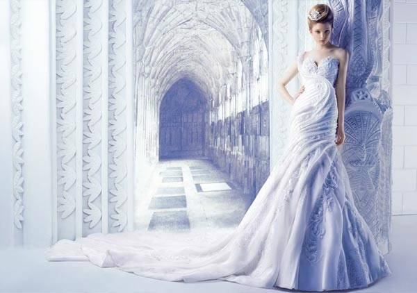 Michael Cinco Wedding Dresses 2013 Classic Style With A Glamorous Twist_06