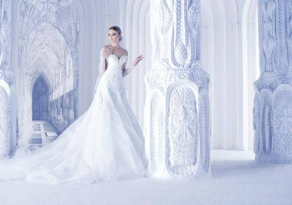 Michael Cinco Wedding Dresses 2013 Classic Style With A Glamorous Twist_07