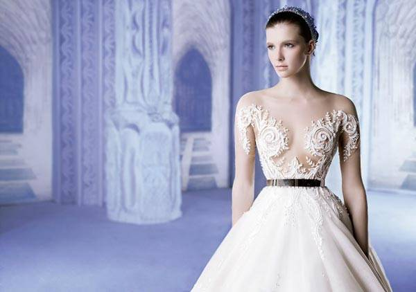 Michael Cinco Wedding Dresses 2013 Classic Style With A Glamorous Twist_08