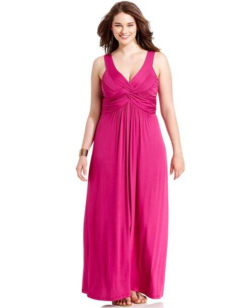 Plus Size Sleeveless Maxi Dresses 2013_09