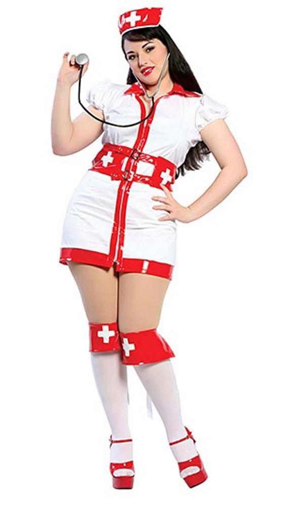 The Nurse - Plus Size Halloween Costumes for Women
