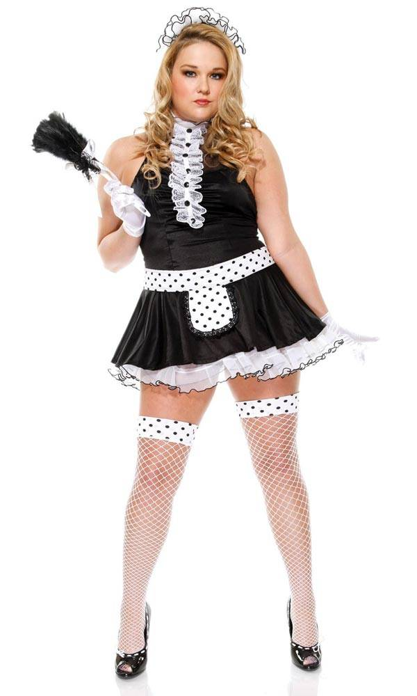 Sexy Maid - Plus Size Halloween Costumes for Women