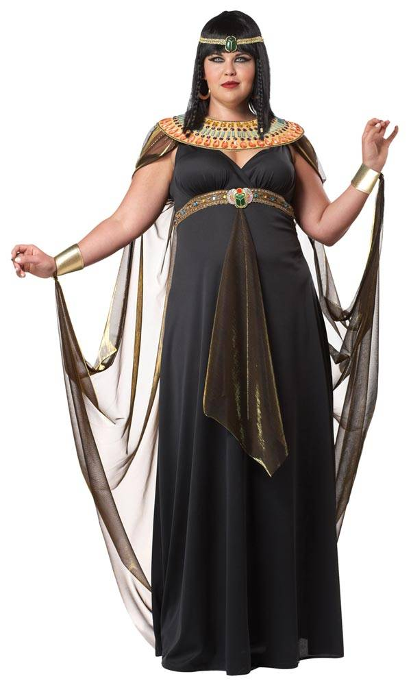 Egyptian Queen Cleopatra - Plus Size Halloween Costumes for Women