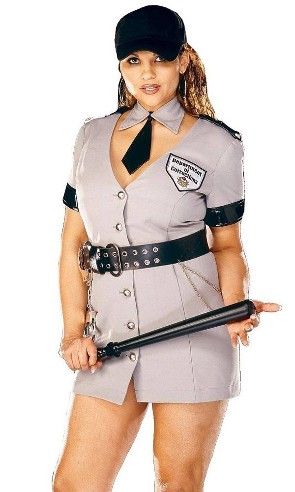 Police Officer - Plus Size Halloween Costumes for Women