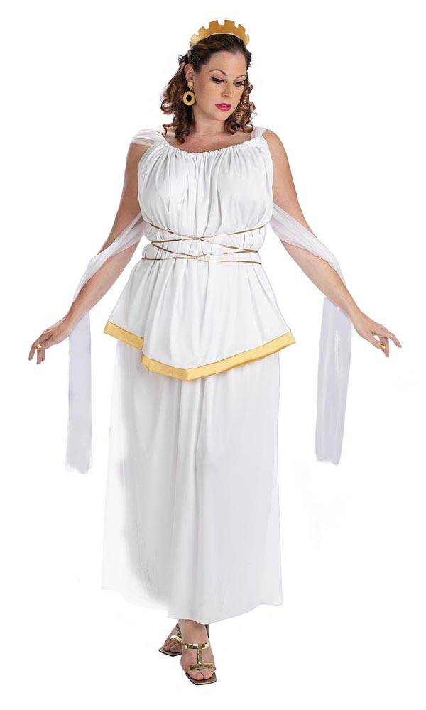 The Grecian Goddess - Plus Size Halloween Costumes for Women