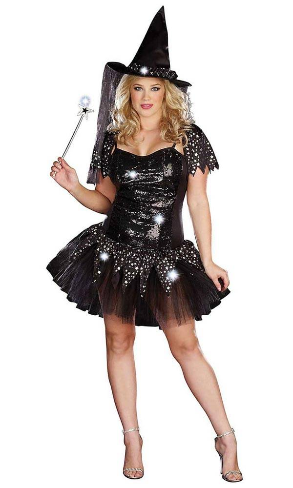 The Witch - Plus Size Halloween Costumes for Women