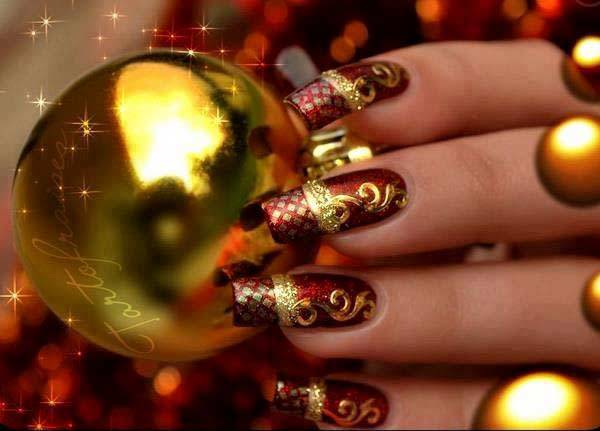 Christmas Nail Art Design Ideas 2013-2014 (1)