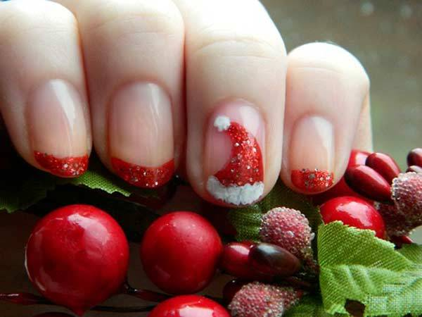 Christmas Nail Art Design Ideas 2013-2014 (10)