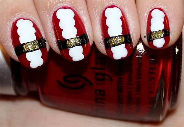 Christmas Nail Art Design Ideas 2013-2014 (12)