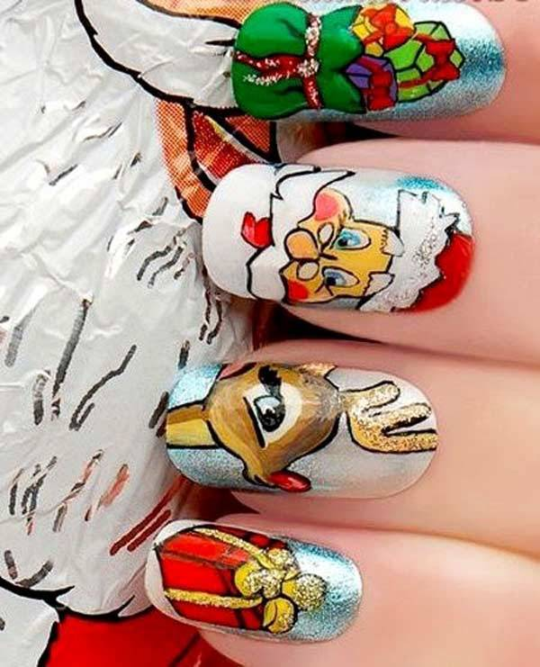 Christmas Nail Art Design Ideas 2013-2014 (13)