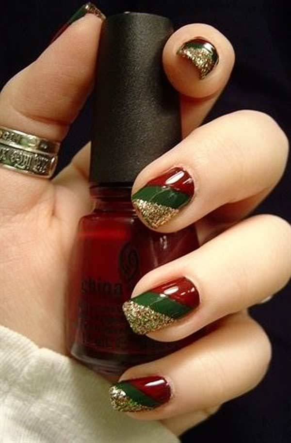 Christmas Nail Art Design Ideas 2013-2014 (16)