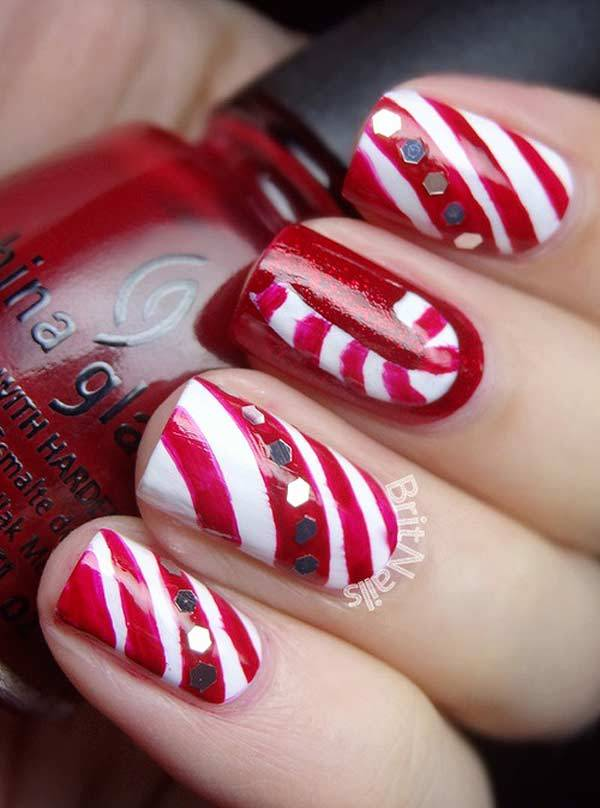 Christmas Nail Art Design Ideas 2013-2014 (2)