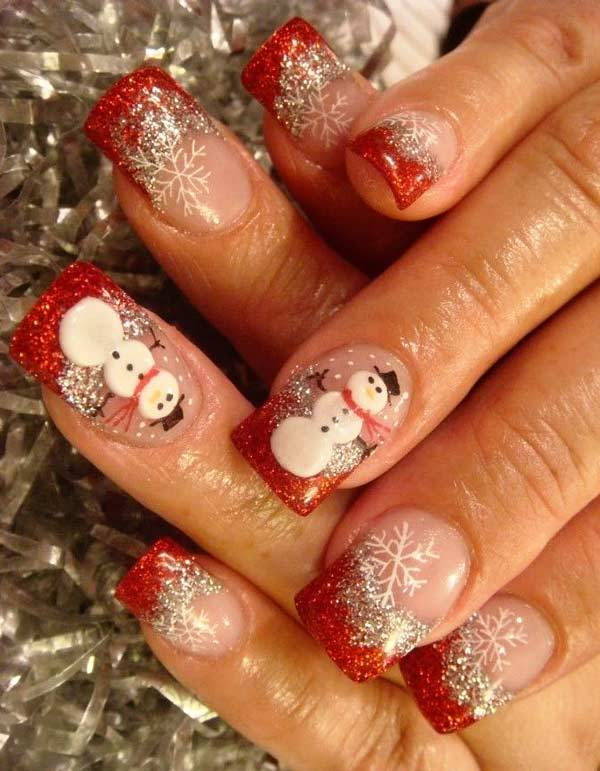 Christmas Nail Art Design Ideas 2013-2014 (21)