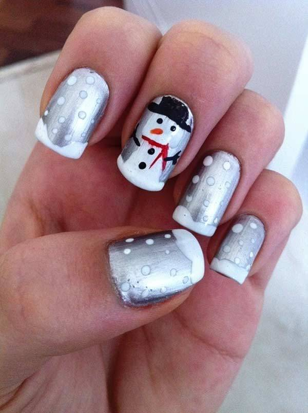 Christmas Nail Art Design Ideas 2013 2014