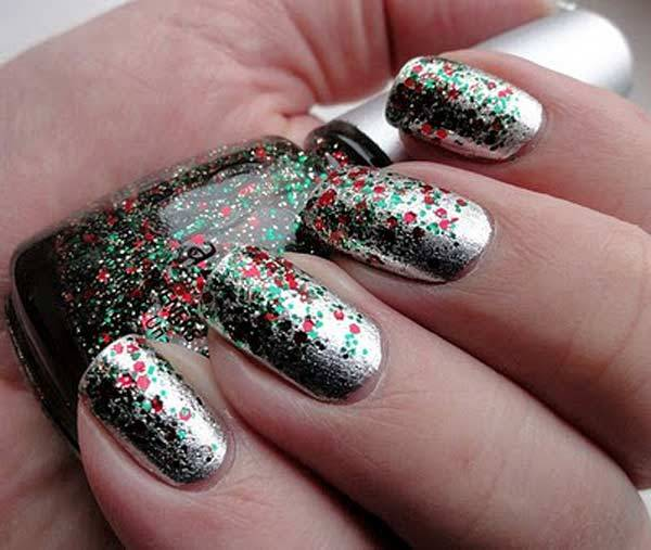 Christmas Nail Art Design Ideas 2013-2014 (29)