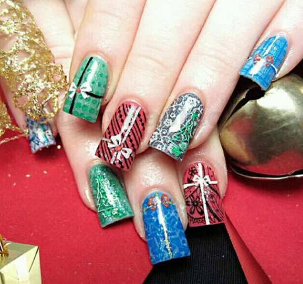 Christmas Nail Art Design Ideas 2013-2014 (31)