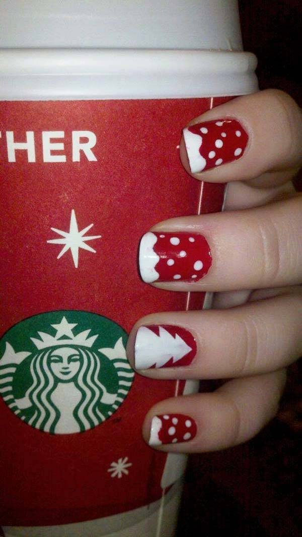 Christmas Nail Art Design Ideas 2013-2014 (34)