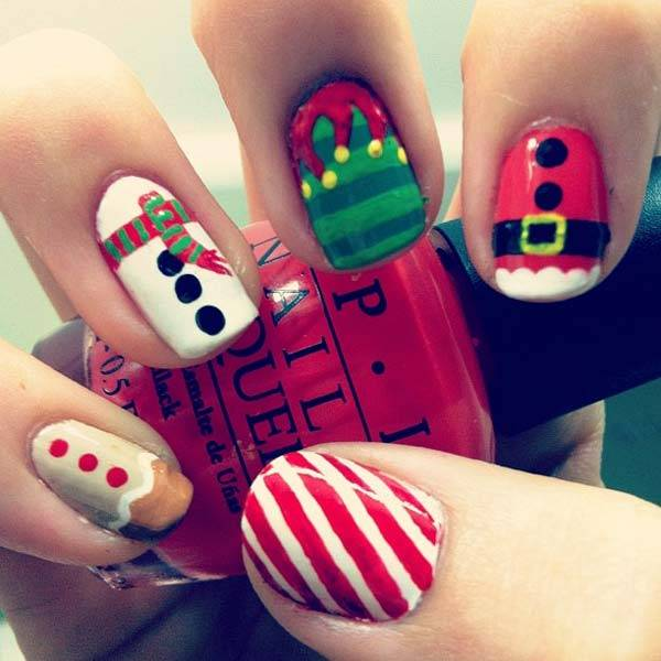 Christmas Nail Art Design Ideas 2013-2014 (35)