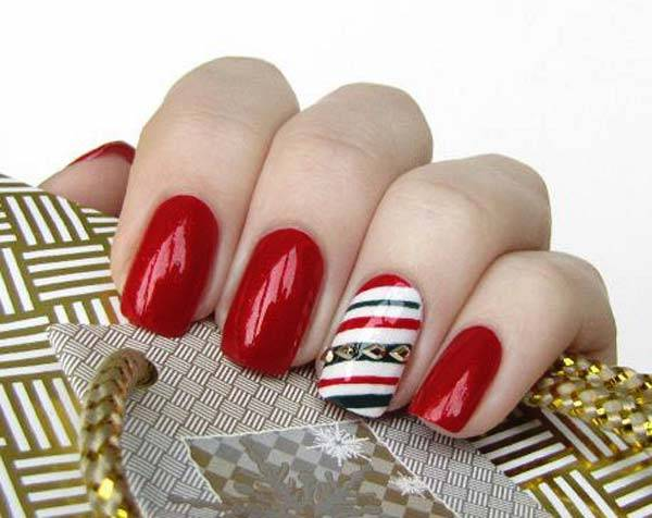 Christmas Nail Art Design Ideas 2013-2014 (36)