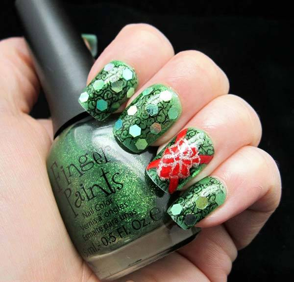 Christmas Nail Art Design Ideas 2013-2014 (38)