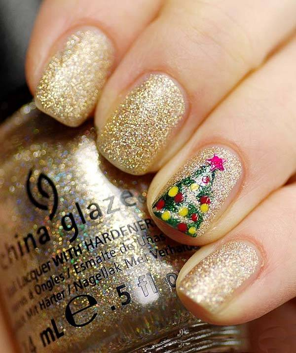 Christmas Nail Art Design Ideas 2013-2014 (40)