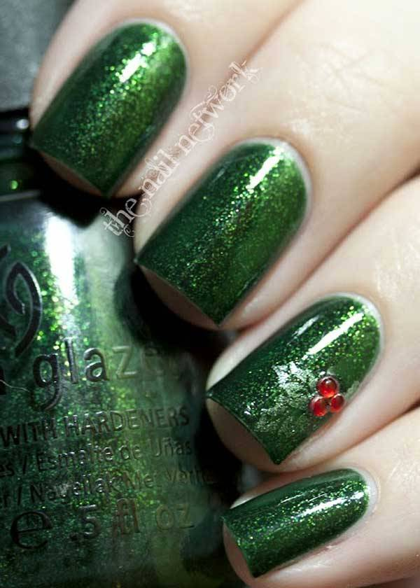 Christmas Nail Art Design Ideas 2013-2014 (45)