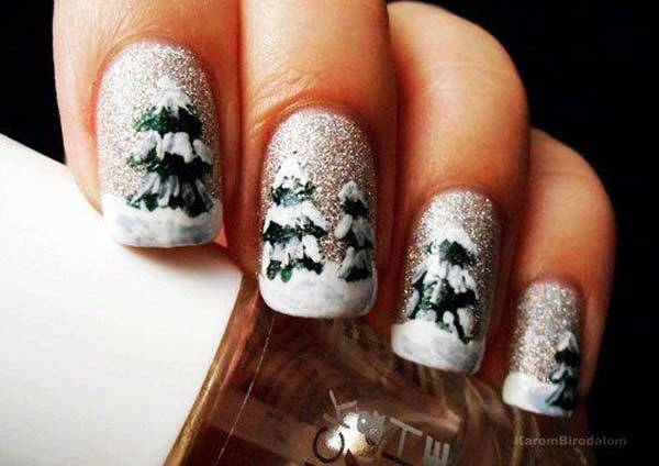 Christmas Nail Art Design Ideas 2013-2014 (5)