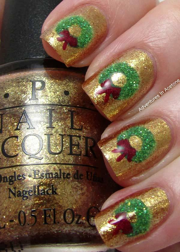 Christmas Nail Art Design Ideas 2013-2014 (7)