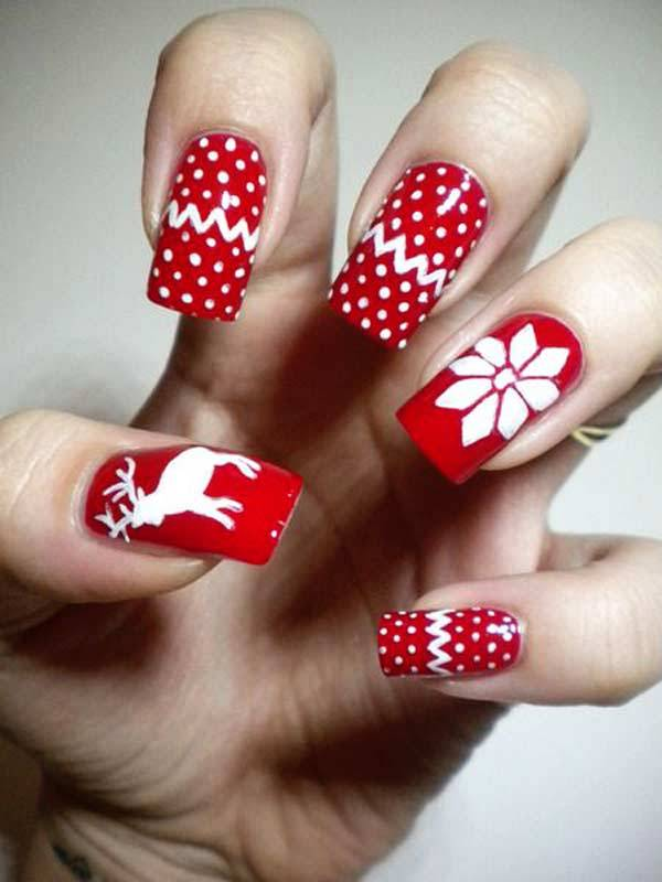 Christmas Nail Art Design Ideas 2013-2014 (8)