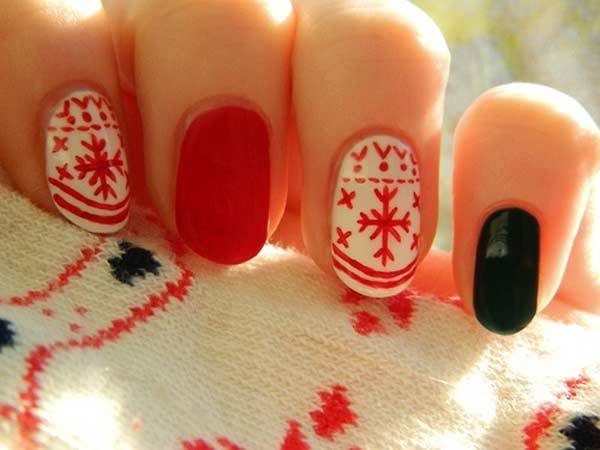 Christmas Nail Art Design Ideas 2013-2014 (9)